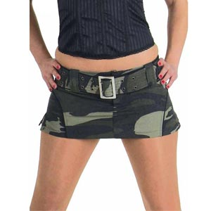 Picture link game. - Page 5 Camouflage-Mini-Skirt