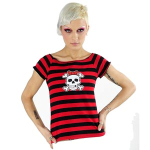 /images/Inventory/Gothic-Lady/Short-Sleeve-Tops/300/Red-Striped-Girly-Skull-Top.jpg