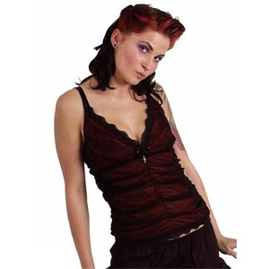 /images/Inventory/Gothic-Lady/Sleeveless-Tops/300/Red-Gathered-Mesh-Lace-Strappy-Top.jpg