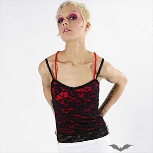 /images/Inventory/Gothic-Lady/Sleeveless-Tops/300/Red-Spaghetti-Top-With-Black-Lace.jpg